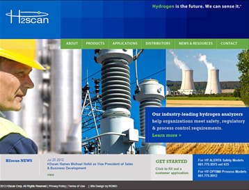 H2scan Launches New Website with New Features and Functionality